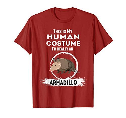 Armadillo Halloween Costume T-Shirt | My Human Costume]()