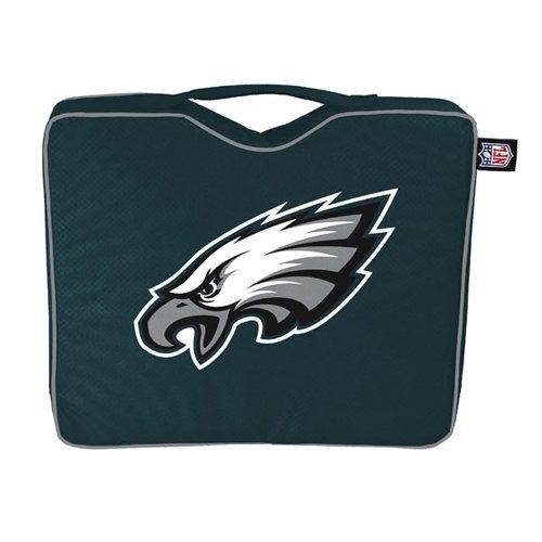 (NFL Lightweight Stadium Bleacher Seat Cushion with Carrying Strap, Philadelphia Eagles)