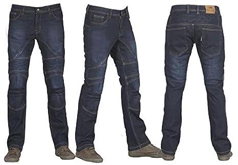 design di qualità 376fd 50565 Jeans da moto con protezioni su fianchi e ginocchia e ...