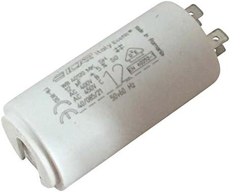 Condensador permanente Motor de terminales 12 µF: Amazon.es: Iluminación