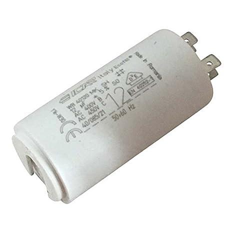 Collegare il condensatore allindietro