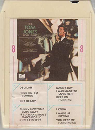 Tom Jone: The Tom Jones Fever Zone 8 Track Tape (Tom Jones The Tom Jones Fever Zone)