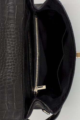 Veau De Belucia En Offre Mat Serpent Croco Main cuir ivoire Gratuit véritable Cuir Bracelet Kelsy À véritable 1 2 Super noir Sac Carrara Nappa Mouton 7qrxZ7wn