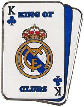 Real Madrid FC Cartes à jouer épinglette Badge à épingle en