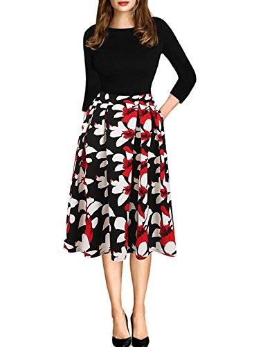 long black puffy dresses - 5