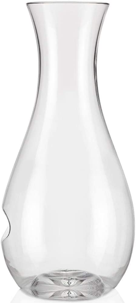 Govino Go Anywhere Dishwasher Safe Decanter Flexible Shatterproof Recyclable, 28-ounce (750 ml)
