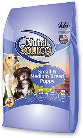 Dog Food: NutriSource Puppy Small & Medium Breed