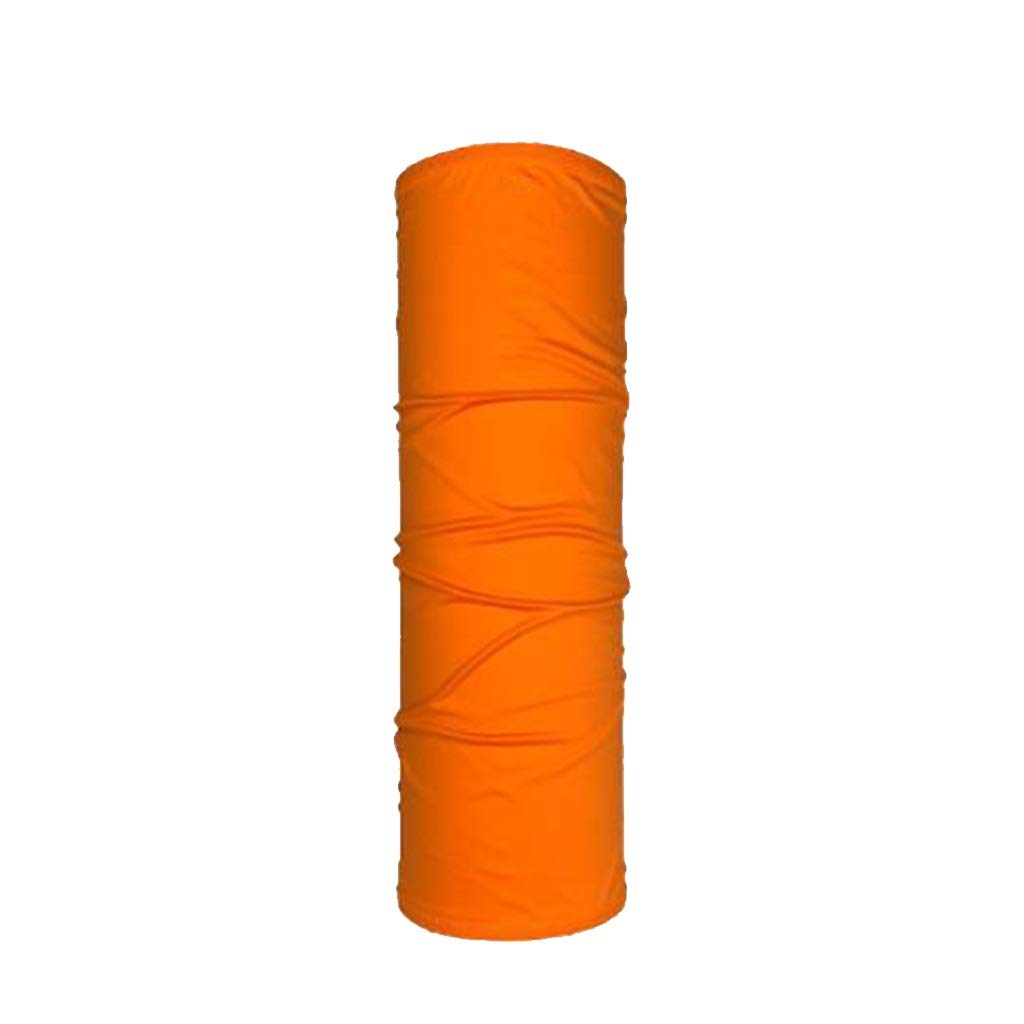 Lijiaqi Half Mask, Spring and Autumn Thin Half Mask, Sunscreen Outdoor Sports Half Mask (Men and Women) (Color : Orange)