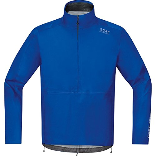 GORE RUNNING WEAR Herren Regen-Laufjacke, GORE-TEX, AIR GT AS Half-Zip Jacket, Größe L, Blau, JGMAIR