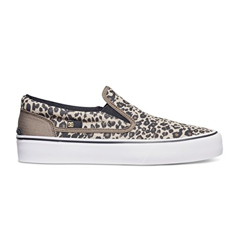 DC SHOES W TRASE SLIP-ON SP LEOPARD PRINT SCARPE DONNA FW 2017-usw 7.5 eur 38.5 cm 24.5