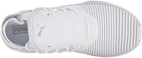 Puma Mens Tsugi Shinsei Evoknit Sneaker Puma Vit-grå Violett-puma Vit