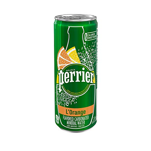 Perrier L'Orange Flavored Carbonated