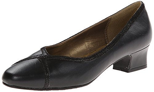 Hush Puppies Soft Style by Womens Lanie Dress Pump, Negro, 37 W EU/4 W UK