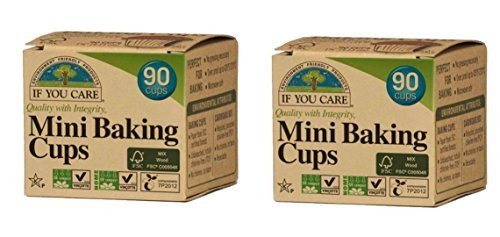 If You Care Mini Baking Cups - FSC Certified, 90 ct (2-pack) by If You Care