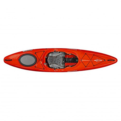 Dagger Katana Crossover Whitewater Kayak - 9.7, Red by Dagger