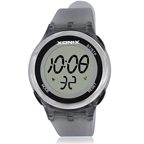 Girl Sport digital watch,30m waterproof Chronograph stopwatch Led Week Multifunction Thin Personalize-B by FXBNHDFMF