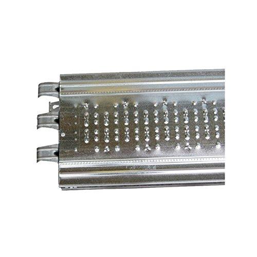 Plancher acier galvanisé longueur 3, 00 m - largeur 0, 32 m Marque