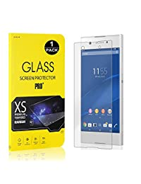 Sony Xperia XA1 Screen Protector, Bear Village® Tempered Glass Screen Protector [Lifetime Warranty], 9H Hardness Screen Protector Film for Sony Xperia XA1-1 PACK