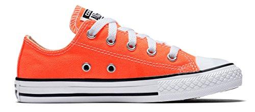9a2567f87a6a Galleon - Converse Kid s Chuck Taylor All Star Seasonal Ox Fashion Sneaker  Shoe - Hyper Orange - Boys - 1