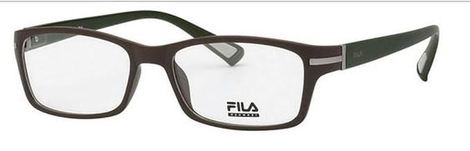 175e4dd2ef2 Fila Glasses Men VF8902 097G Green Full Frame  Amazon.co.uk  Clothing