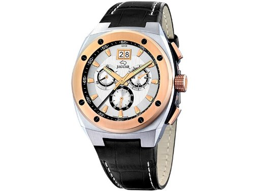 Jaguar j625/1 Reloj para Hombre Analógico de Cuarzo con Brazalete de Piel de Vaca J625/1: Amazon.es: Relojes