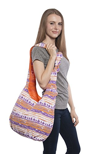Pier 17 Large Hobo Bag For The Beach and Travel. ✮100%. (Orange)