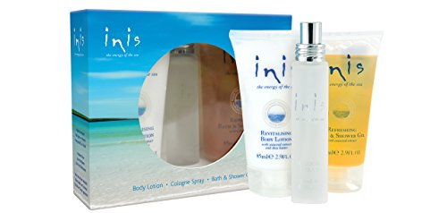 Inis the Energy of the Sea Trio Gift Set Including Cologne,