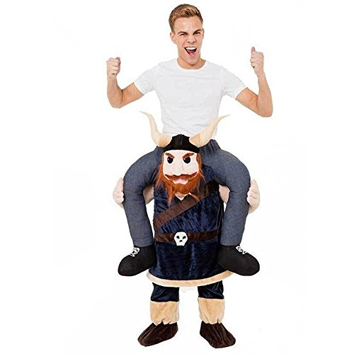 GUAITAI Shoulder Ride On Mascot Costume Piggy Back Party Fancy Dress Carry Costume 22 Style (Fast delivery by DHL)(Viking Medieval Cattle)