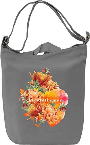 Chrysanthemum Borsa Giornaliera Canvas Canvas Day Bag  100% Premium Cotton Canvas  DTG Printing 