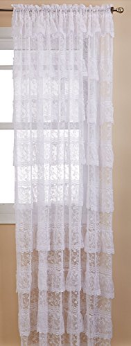 Lorraine Home Fashions Priscilla Window Curtain Pairs, 12...