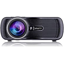 Video Projectors U80 Plus Android 6.0 ANDROID 6.0 Smart Projector (Color : Black)