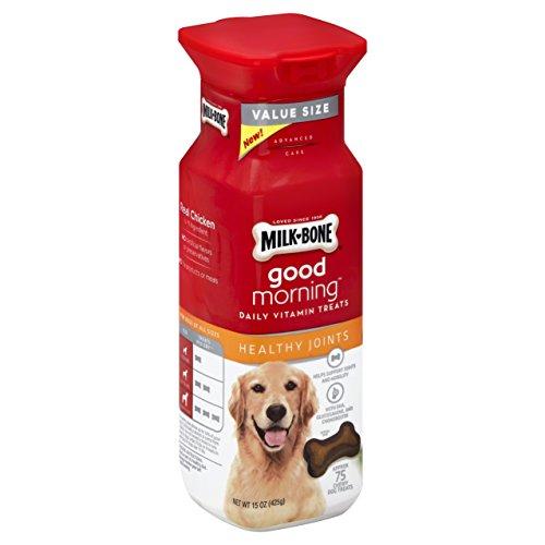 Milk-Bone Healthy Joints Good Morning Daily Vitamin Dog Treats, 15 Ounce