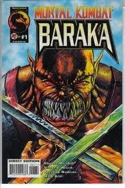 Mortal Kombat Baraka #1 -