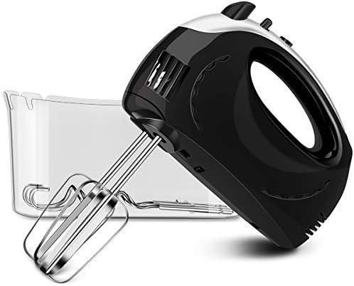 Hand Mixer Black Plastic