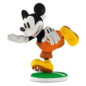 "Hallmark Keepsake Disney Mickey's Movie Mouseterpieces #5 ""Touchdown Mickey"" Holiday Ornament"