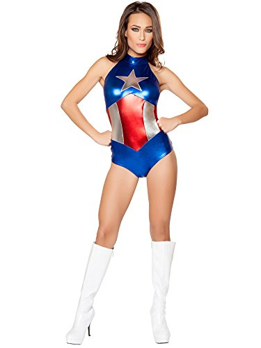 Enhanced American Hero Costume - Large -