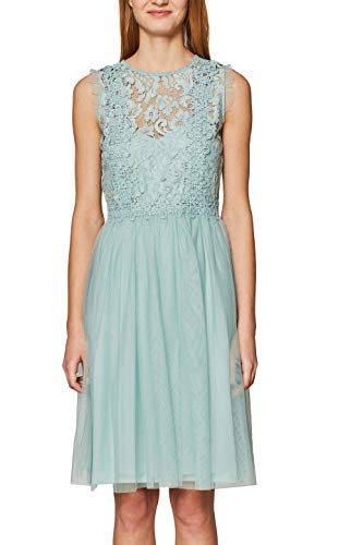 Para light Grün 390 Aqua Green Mujer Collection Vestido Esprit EwanxfCXqf