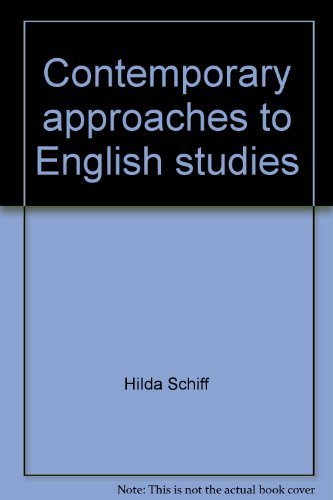 Contemporary approaches to English studies