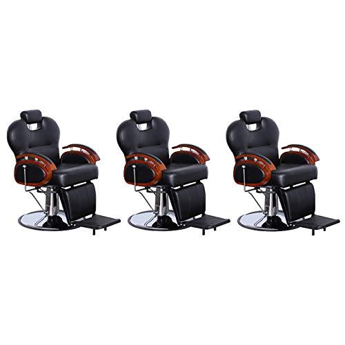Three Purpose Hydraulic Recline Salon Beauty Spa Shampoo Styling Chairs