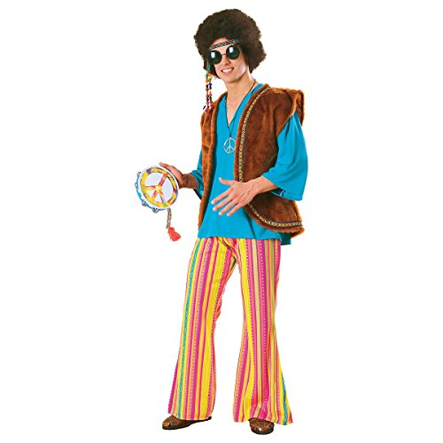 [John Q Woodstock Costume - X-Large - Chest Size 50] (John Q Woodstock Adult Costumes)