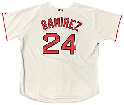 Manny Ramirez Autographed Game Used 2005 Red Sox Grey Jersey - MLB  Autographed Game Used Bats 732753a35b3