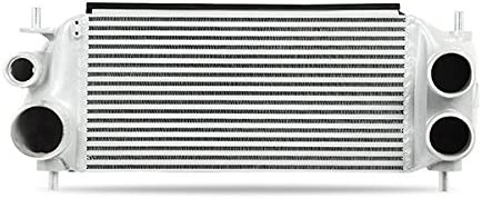 Mishimoto MMINT-F35T-15KBSL Intercooler Kit Compatible With Ford F-150 3.5 EcoBoost 2015-2016 Silver Kit Black Pipes