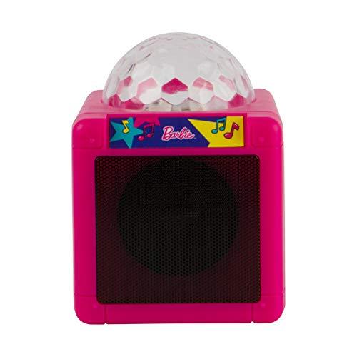 Barbie Kids Bluetooth Karaoke Machine with Light-Up Disco Ball by Barbie (Image #3)