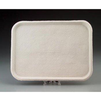 Chinet Savaday Molded Fiber Flat Food Tray, White, 12x16 - 200 trays per (Chinet Savaday Food Tray)