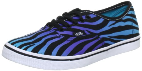 d37d03721b Vans Authentic Lo Pro (Zebra Fade) Black  Scuba Blue Shoes US Men s 5.5   Women s 7 - Buy Online in Oman.
