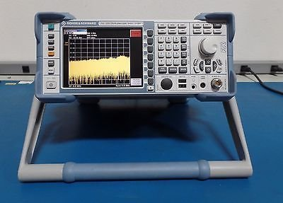 Rohde & Schwarz FSL6 Spectrum Analyzer 9kHz-6GHz FSL6-K7-K8-B10 Bluetooth/Mod