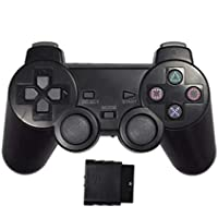 Wireless 2.4G Controller Gamepad 3 in 1 Joystick Wireless Controller for PS2 PlayStation ,Analog Controller Twin Vibration compatible with PS2 PS1 PSX