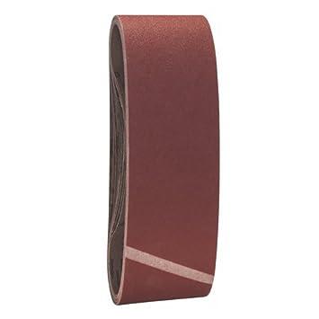 3 St/ück, K/örnung 180, X440 Bosch Pro Schleifband Best for Wood and Paint Holz und Farbe f/ür Bandschleifer