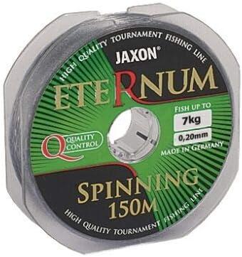 0,16-0,40mm Monofile Jaxon Angelschnur ETERNUM Spinning Spule 150m