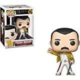 Funko 33732  Pop Rocks: QueenFreddy Mercury Wembley 1986, Multicolor